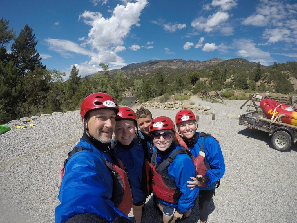 whitewater rafting techniques
